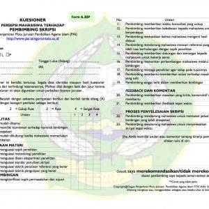 Contoh Form Surat Laman 2